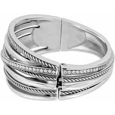bangle bracelet with ring images Neptune 39 s rings neptune 39 s rings hinged bangle bracelets jpg
