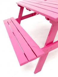 Picnic Bench Hire Pink Picnic Bench Furniture Hire All Theme Event Prop Hire