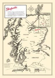 Dundee Scotland Map Glenfarcas Illustrated Map U2013 Illustrated Maps