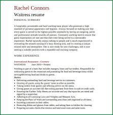 Resume Templates For Servers Server Resume Template Create My Resume Best Hotel Server Resume