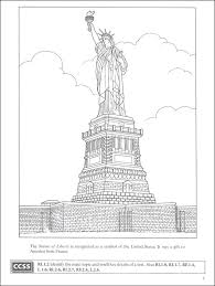 island coloring page statue of liberty and ellis island coloring book boost series