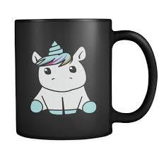 dabbing unicorn white coffee mug u2013 top notch products