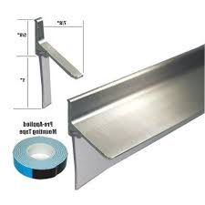 Replacement Shower Door Sweep Chrome Framed Shower Door Replacement Bottom Deflector With Vinyl