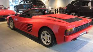 80s ferrari 1989 ferrari testarossa convertible review top speed