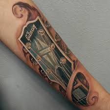 gibson guitar under the skin best tattoo design ideas