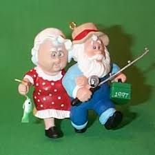 clauses on vacation hallmark ornaments