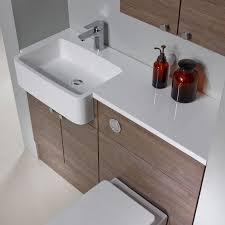 R2 Bathroom Furniture 1200mm Isocast Basin Left R2 Bathrooms