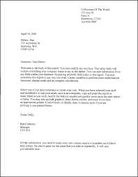 friendly business letter format gallery letter samples format