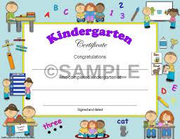 kindergarten certificates kindergarten diplomas certificates graduation invitations