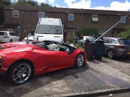 bugatti chiron crash rental lamborghini huracan spyder crashed in birmingham uk