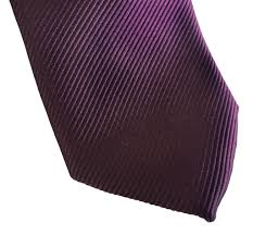 spiced wine necktie solid purple fine stripe tie no print