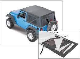 jeep soft top tan replacement jeep soft top material quadratec