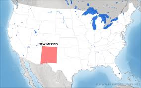 Where Is Mexico On The Map by Where Is New Mexico Located On The Map