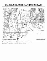 Southeast Alaska Map by Park Maps