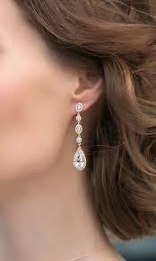 Long Chandelier Earrings Dangle Earrings Best 25 Drop Earring Ideas On Pinterest Pinterest Jewelry Drop