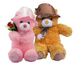 tied ribbons hug day special soft toys teddy lovers hug day