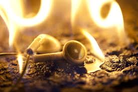 please stop u0027burning in u0027 your earphones wired