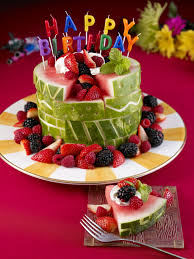birthday cake watermelon board birthday cake
