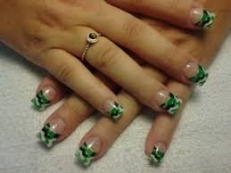 cute camo acrylic nails designs u0026 decals for beginners