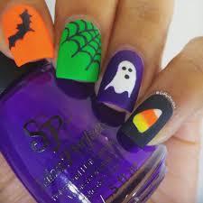 halloween halloween nail art ideas easy polishns fall halloween