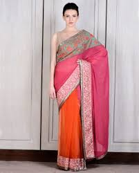manish malhotra latest collection of fancy and embroidered saree