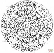 save advanced mandala coloring pages mandala 2 coloring pages high