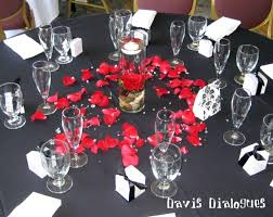 red and white table decorations for a wedding eliz s blog fall wedding colors schemes flowers fall wedding