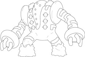 regigigas pokemon coloring free printable coloring pages