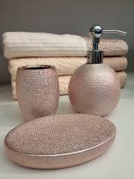 rose gold bathroom accessories at homegoods and marshall u0027s rose