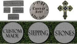 personalized garden stones vibrant creative personalized garden stepping stones imposing