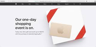 free gift cards by mail apple s black friday deals in australia new zealand offer free