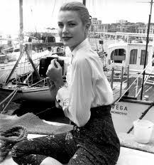 suicideblonde grace kelly at the 1955 cannes film festival