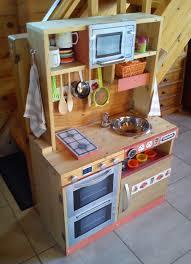 meuble de cuisine fait maison cuisinière en bois pour enfant fait maison diy cuisines enfants