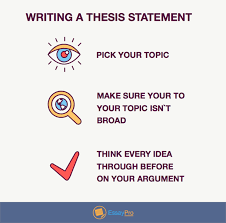 write a good thesis statement thesis statement format template examples essaypro