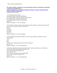 test bank for biology of humans concepts applications and issues