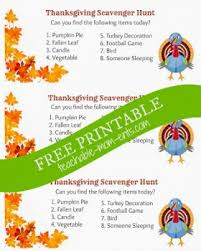 thanksgiving free printable scavenger hunt free homeschool deals