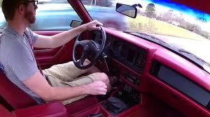 86 Mustang Gt Interior Stock 1986 Mustang Gt Youtube