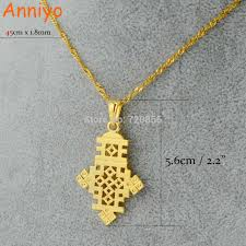 aliexpress cross necklace images Anniyo ethiopian cross necklaces jewelry pendant eritrea african jpg
