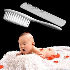 infant hair 1pc safety soft baby infant hair brush set comb grooming shower