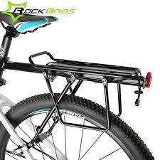 siege velo vtt rockbros vtt mountian vélo porte bagages arrière alliage siège