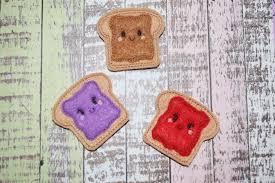 hairbow supplies peanut butter and jelly felties pb j sandwich felties