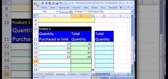 Inventory Excel Templates How To Create An Excel Inventory Template With Running Totals