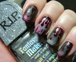 halloween nail art inspiration to show your spooky side 54