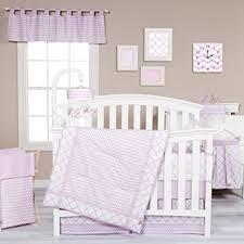 amazon com trend lab orchid bloom 3 piece crib bedding set