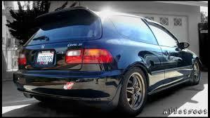 honda hatchback 1993 1993 honda civic si hatchback san diego supercharged gsr