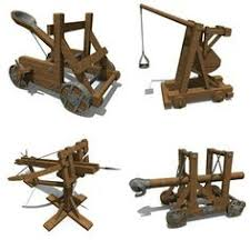 siege engines replica of a catapult a catapult is any siege engine which