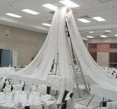 Ceiling Drapes For Wedding Wedding Ceiling Decor Draping Kits