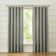90 Inch Curtains Drapes Curtain Panels And Window Coverings Crate And Barrel