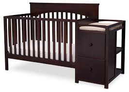 nursery decors u0026 furnitures oak baby crib with changing table