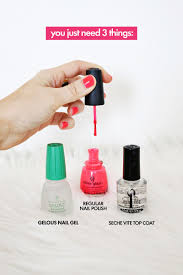 do your own gel manicure at home u2013 a beautiful mess